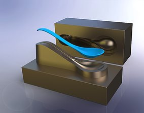 Core and cavity - spoon 3D model