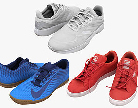 3D sports Shoes Collection