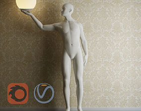 3D Human luminaire