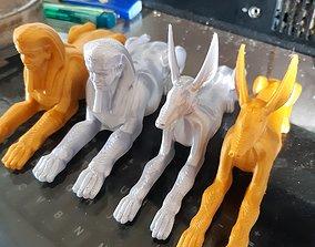 Egyptian Figure Anubis 3D print model