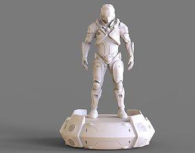 3D print model Cyborg Sculpture