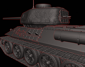 T 34 85 Tanks 3D print model
