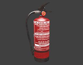 3D asset fireExtinguisher
