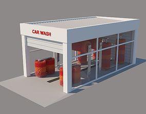 architecture 3D model Car Wash