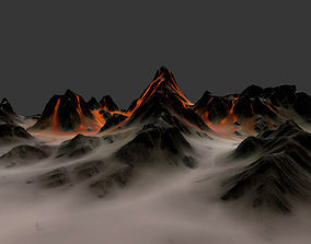 volcano 1 3D model