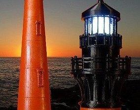 3D printable model Currituck Beach Lighthouse