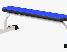 Gym Bench set 3D