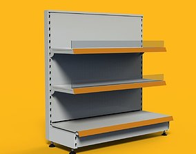 Shelving system WINDOW UNIT 1050 mm 3D model