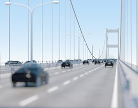 VR / AR ready Bosphorus istanbul Bridge Model