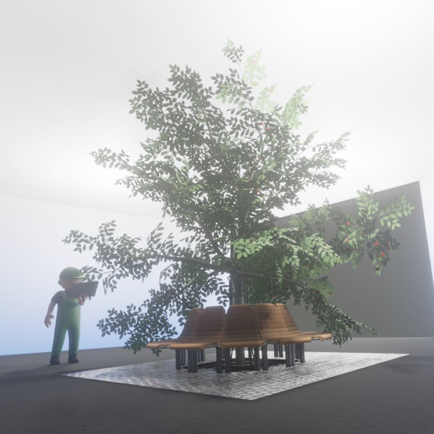 Too many branches ? (Render scene  made with Blender-2.90.1 Eevee)