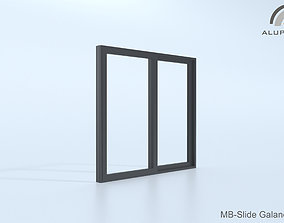 Aluprof MB-Slide Galandage 001 M-0370 3D model