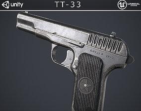 3D model TT-33 Pistol