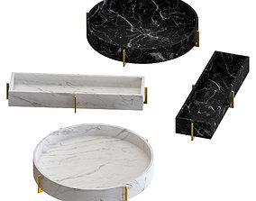 3D model Mataro Marble ashtray