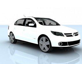 3D model Volkswagen Voyage 2012