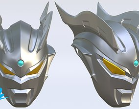 Mask Ultraman Zero 3D print model
