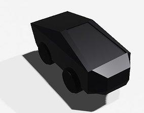 3D model realtime tesla cyber truck