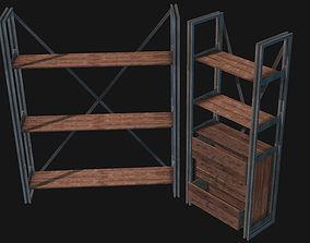3D model RUSTIK Shelf Set