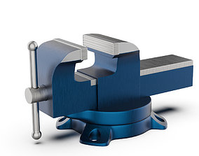 Bench Vise 3D Highpoly