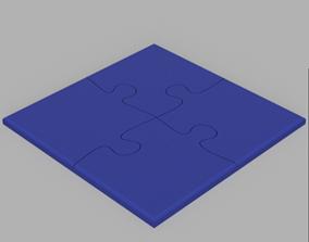 PUZZLE COASTER 3D print model