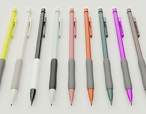 3D model game-ready Mechanical Pencil