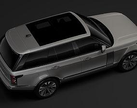 3D Range Rover Supercharged L405 2018