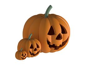 Halloween Pumpkin 3D models