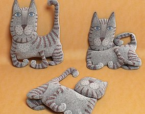 3D model kids cat toy 09