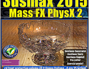 3ds max 2015 Mass Fx PhysX v 40 cd front animated