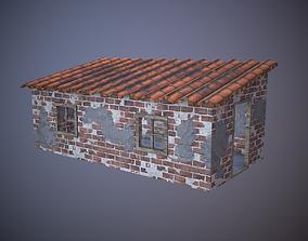 3D model VR / AR ready Old Brick House