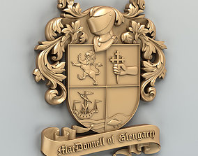 3D printable model Coat of arms decorative 004