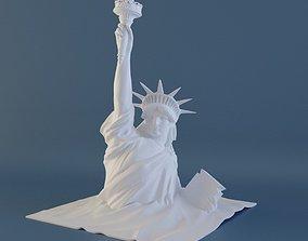 sand Statue of Liberty 3D printable model
