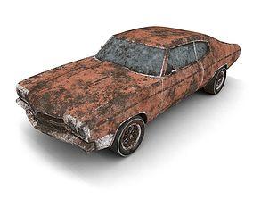 Abandoned Car 3D asset