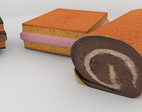 game-ready Cakes 3d model