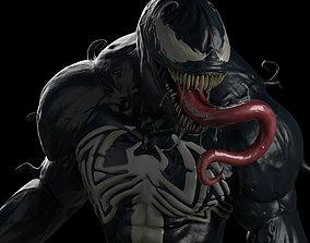 Venom 3D print model sculptures