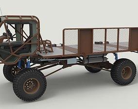 Mongo Heist Truck 3D model