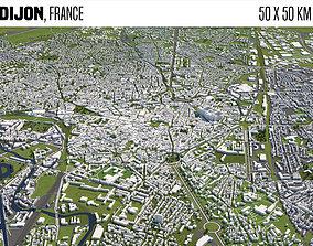 3D model Dijon France