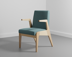sublime 3D wood chair