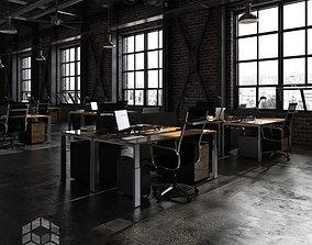 3D Loft Office 1