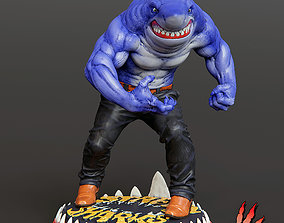 RIPSTER from STREET SHARKS fanart 3D printable model