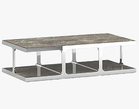 3D Kathy Kuo Home Coffee Table