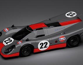 Porsche 917k 1969 Gulf 3D model