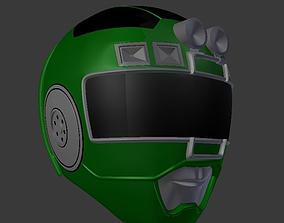 3D printable model power rangers turbo green ranger 2