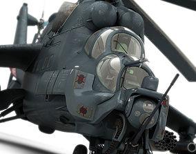 Mi-24 Super Hind 3D model