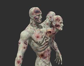 3D asset Zombie Mutant 2