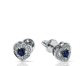 3D print model Stud Earrings jewelry