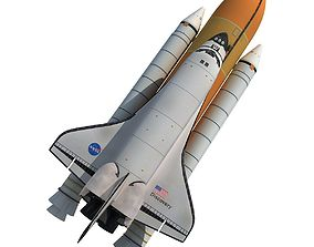 3D model Nasa Discovery Space Shuttle