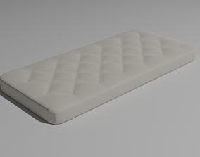 3D asset Mattress - Low-poly PBR