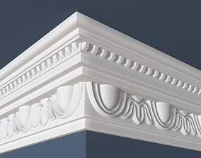 3D model Decorative Crown Molding decoration