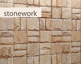 Stone slate 3D 29
