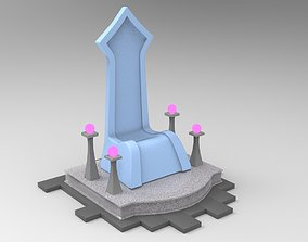 3D model realtime Throne